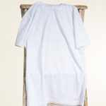 trend-focussed white tshirt