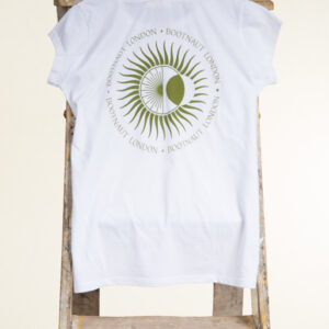Women's White Tribal T-Shirt